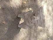 Statue olmeca. Gregoire De Couespel