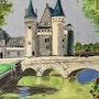 Château de Sully sur Loire. Catherine Souet-Bottiau