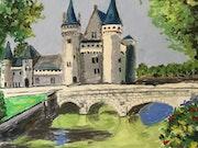 Château de Sully sur Loire.