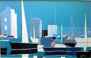 Port de la Rochelle. Lacharielle