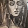 Pensive. Clara Macovei