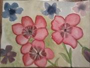 Fleurs. Evelyne Patricia Lokrou
