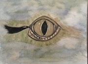 L'Oeil du crocodile. Evelyne Patricia Lokrou