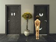 Les Toilettes de Gravel.