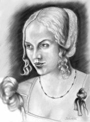 La vénitienne de Dürer.