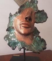 La femme fleur. Yveline Loustalot