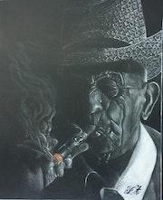 Retrato Robaina 2. Philippe Toneut