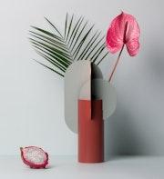 Ekster Metal Vase.