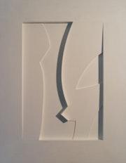 Claridge Collage monochrome.