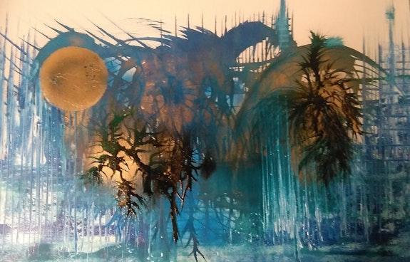 L'Oasis Bleu. Claude Valéry Claude Valery