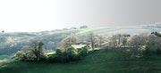 Paysage du Tarn - Drôle de lumière.