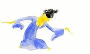 La danseuse. Christophe Delaleau