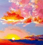 Peinture soleil. Thierry Vantaud