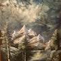"""Mountain Scene"". Cheryl Ann Hardy"