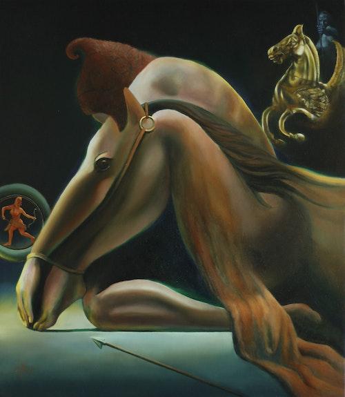 Una in aliam – 01-09-19. Corné Akkers Corné Akkers Kunstwerken