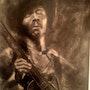 """Jimi Hendrix"" The Great Guitarist. Cheryl Ann Hardy"