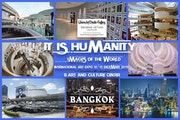 "-"" It is humanity"" images of the world -international art expo."