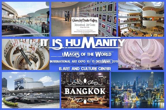 """-"""" It is humanity"""" images of the world -international art expo. Todaro Maria Grazia Queenartstudio Gallery"""