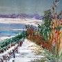 Le lac blanc. Alain Faure En Peinture