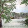 Lac du bourdon. Alain Faure En Peinture