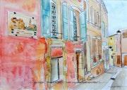 Roussillon (rue Casteau). Alain Faure En Peinture