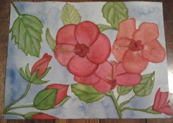 Fleurs, hibiscus.. Evelyne Patricia Lokrou (Evepath) Evelyne Patricia Lokrou