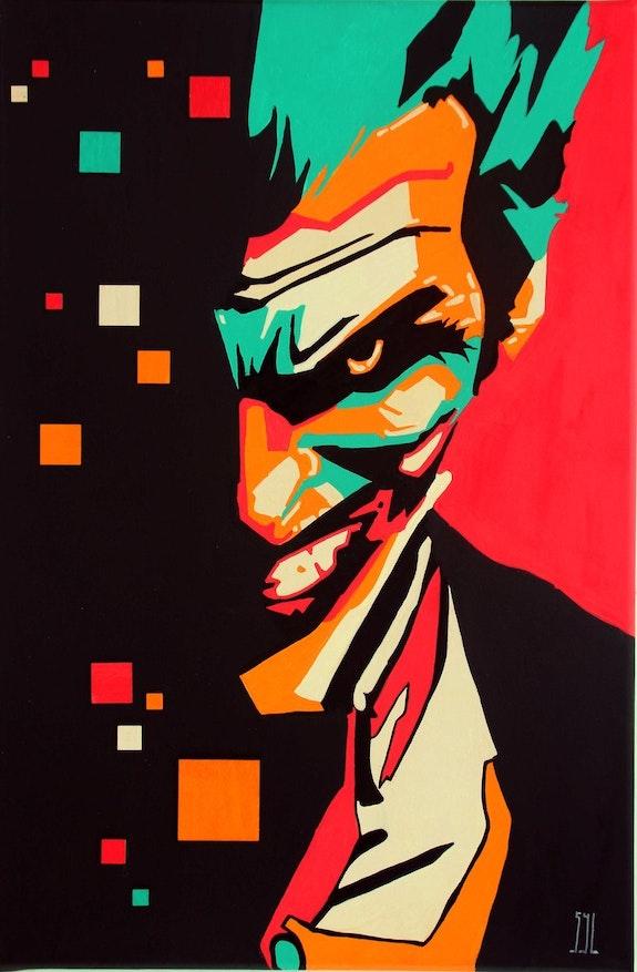 Joker. L'aquarelle Autrement L'aquarelle Autrement