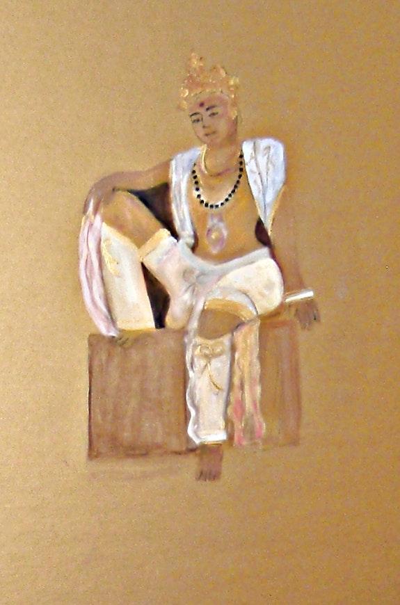A Portrait of Gautama Buddha. Michela Akers Michela Curtis