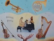 Symphonie Instrumentale. M. Machin