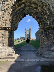 St Andrews Cathedral, St Andrews. David Rankin