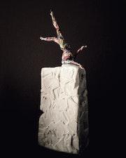 Femme en élévation, son âme multicolore. Patricia Piana