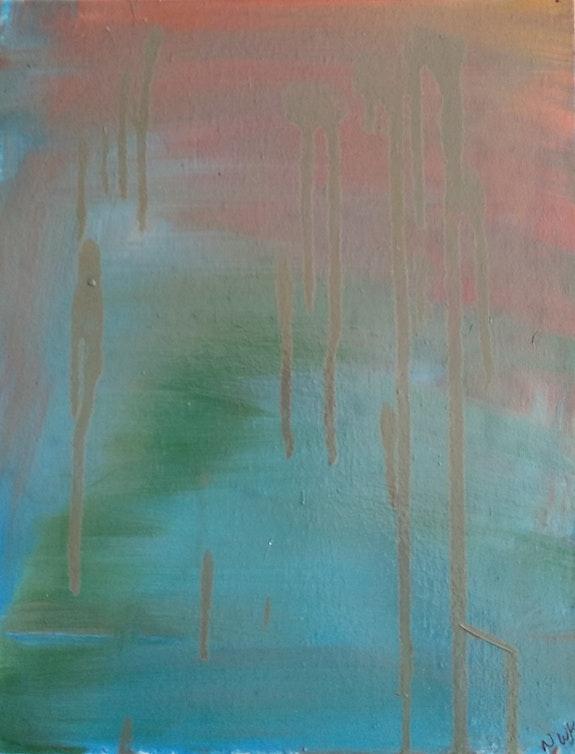 Rainy Day Gerbera. Nickola Walker-Kobly Nickola Walker