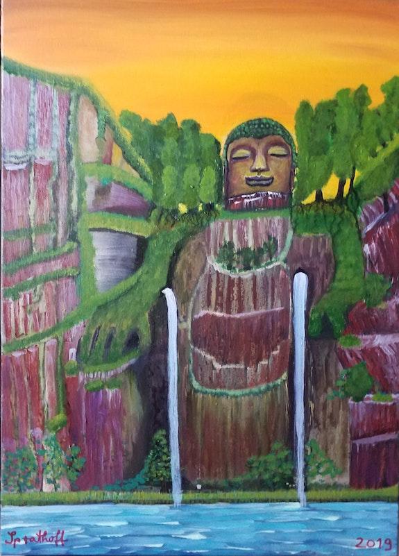 Großer Buddha von Leshan. Sprathoff Sprathoff