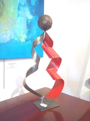 Sculpture métal I.
