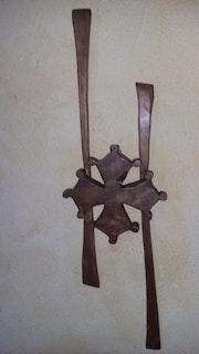 Croix occitane. Saks