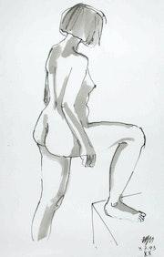 Female Nude # 3232 (1993). Hajo Horstmann