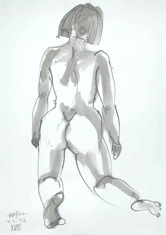 Female Nude # 3230 (1993). Hajo Horstmann Hajo Horstmann