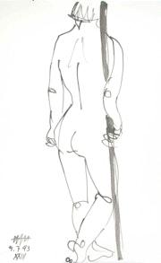 Female Nude # 3226 (1993). Hajo Horstmann