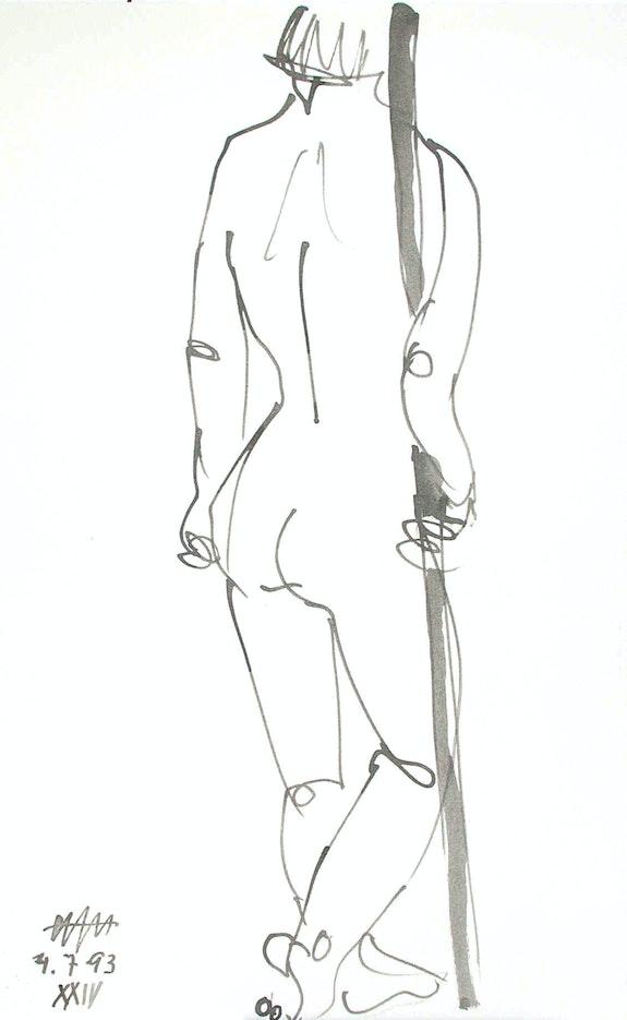 Female Nude # 3226 (1993). Hajo Horstmann Hajo Horstmann