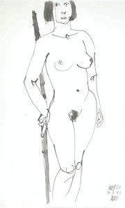 Female Nude # 3237 (1993). Hajo Horstmann