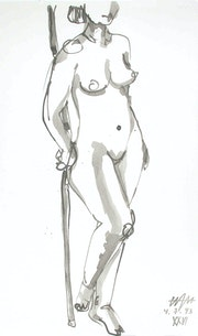 Female Nude # 3239 (1993). Hajo Horstmann
