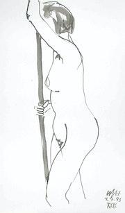 Female Nude # 3241 (1993). Hajo Horstmann