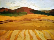 Cosecha del trigo. Marisol Usandegi