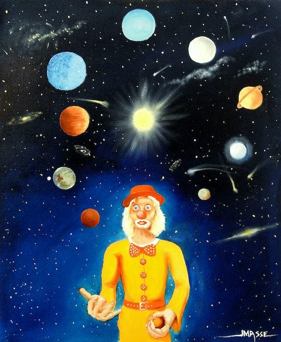 Le clown cosmique II. Jean-Michel Masse Jean-Michel Masse