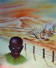 L'enfant soldat. Jean-Michel Masse