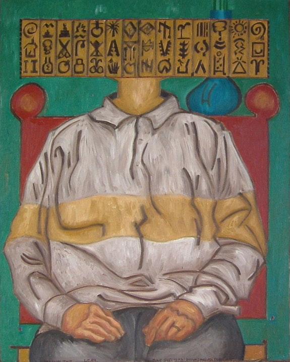 June Shepherd - Hammerhead Portrait. G. E. W. Shepherd Gerald Shepherd