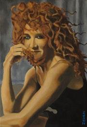 Portrait of Fiorella Mannoia (2019).