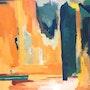 Oleo-Collage. Marisol Usandegi