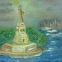 La Statue de la Liberté. Michèle Klein