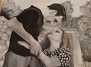 Marius et Fanny couple mythique de Marcel Pagnol.